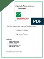 Proyecto de Mieles (Zamorano Clase 2018)