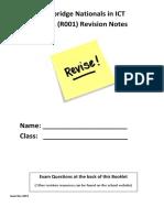 ICT revision