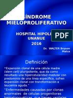 SÍNDROME+MIELOPROLIFERATIVO.+MIII