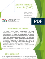 Organización Mundial de Comercio (OMC)