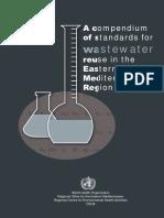 A Compedium of Standards for Waste Water Reuse in Teh Eastern Mediterranean Region OMS