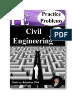 Practice Problems PE Civil.pdf
