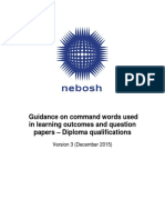 command words guidelines