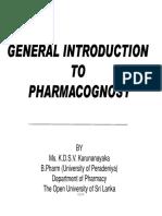 Lecture 01 Pharma