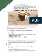 La Composición Del Café Expreso