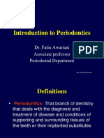 Introduction to periodontology