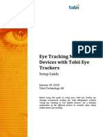 Tobii Eye Tracker Setup Guide For Testing Mobile Devices
