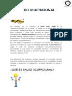Salud Ocupacional Libro