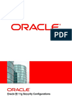 Oracle BI Security Configurations V7.0