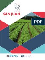 Plan de Desarrollo Provincia San Juan