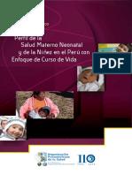 Perfil de la Salud Materno Neonatal y de la Niñez con el Peru con enfoque de curso de vida.pdf
