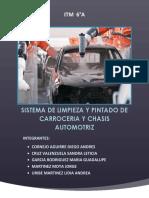 Sistema de Limpieza y Pintado de Chasis Automotriz