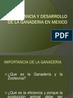 1.- Importancia de La Ganaderia