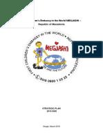 Strategic Plan 2016-2020 of the First Children's Embassy in the World MEGJASHi - Republic of MACEDONIA