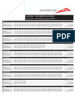 F13 — Dubai Mall MS Land Side1 to Dubai Mall MS Land Side2 Dubai Bus Service Timetable