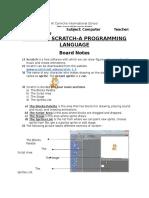 G5 Scratch Notes