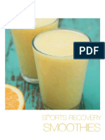 Sports Recovery Smoothies