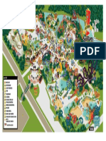Six Flags New England Theme Park Map