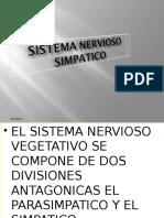 Sistema Nervioso Simpatico