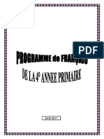 Programme Francais 4_ap