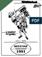 1991 Eastern Kentucky Offense