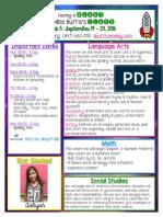 week 5 newsletter buffa