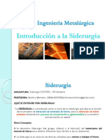 Clase Introductoria Siderurgia