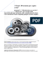 Manuale Cloud