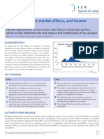 Tax Evasion Labor Market Effects and Income Distribution