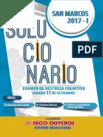 Solucionario UNMSM 2017-I ( 17 SEP)