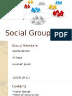 Social Groups