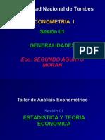 1_ Clase -General Econometria