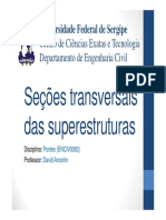 Seções Transversais Das Superestruturas