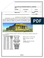 Arquitetura Grega- 6 Ano A