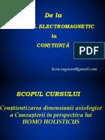 De La Campul Electromagnetic La Constiinta