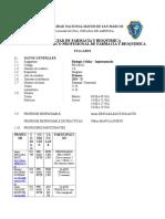 Silabo Biologia Celular 2015 II Para Farmacia