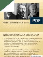Antecedentes de La Sociología2