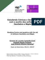 Conicas e Quadricas No Geogebra.maples Erminia SEMAT2012