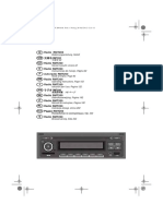 Volkswagen RMT200 Radio User's Manual