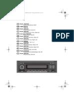 Volkswagen RMT200 Radio User's Manual