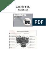 Manual Zenit TTL
