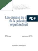 Campos de accion de la psicologia organizacional.doc