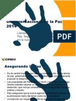 Día Internacional de la Paz 2015 Conferencia de Prensa 3