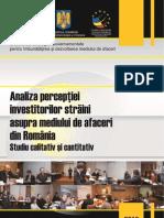 Studiul 5 Strategia Dma Perceptia Investitorilor Straini