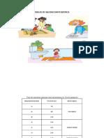 Tablas de Valoracion Pediatrica