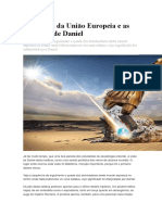 A Ruptura Da União Europeia e as Profecias de Daniel
