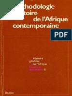HGA - La Méthodologie de l'Histoire de l'Afrique Contemporaine