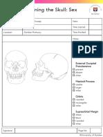 Examining the Skull Sex Estimation ChecklistNND
