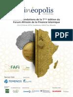 Recommandations FAFI 2016