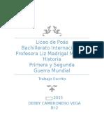 Naconalismos PGM SGM